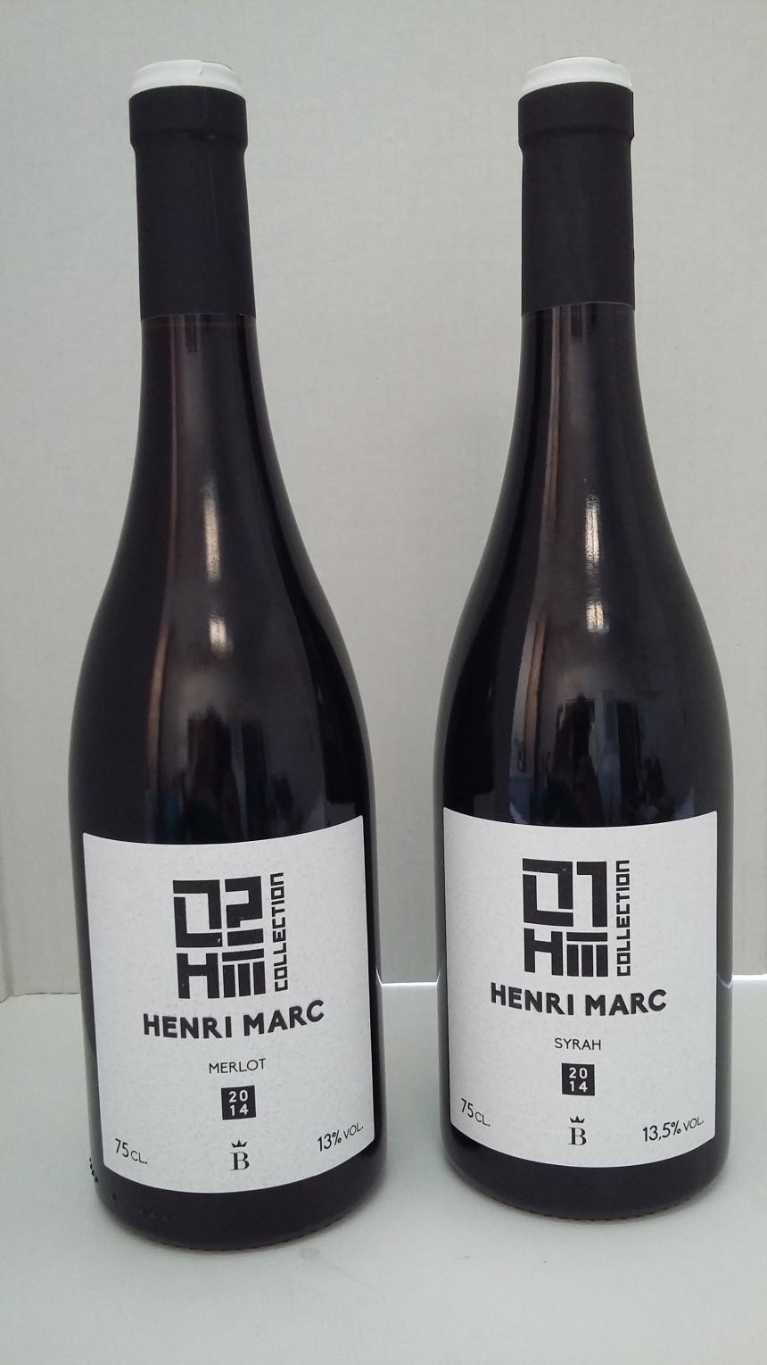 Embotellado Henri Marc 01 y 02