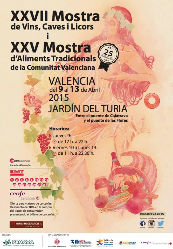 Mostra de Vins i Aliments de la Comunitat Valenciana 2015