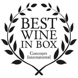 Best Wine in Box para dos de nuestros vinos