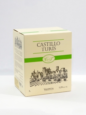 Castillo Turís Blanco – Bag in Box