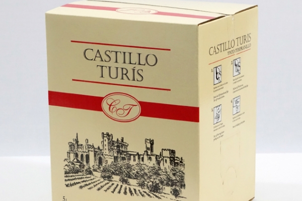 Castillo Turís Tinto – Bag in Box