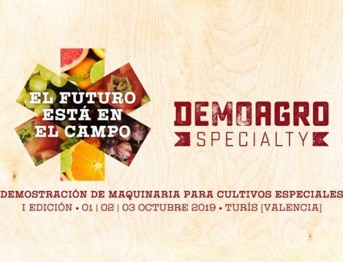 Participamos en Demoagro Specialty, gran evento de maquinaria agrícola