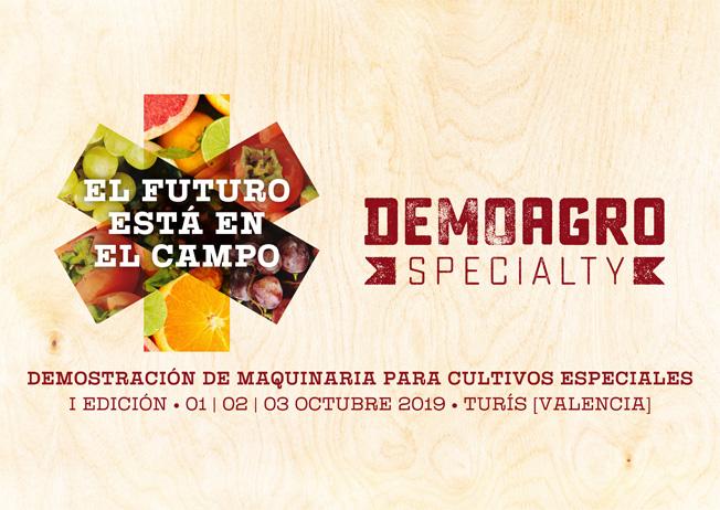 Participamos en Demoagro Specialty, evento de maquinaria agrícola