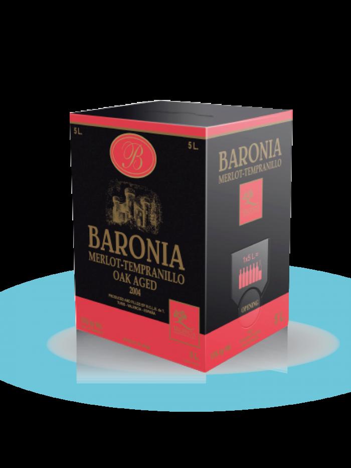 Red wine Bag In Box Baronía Premium