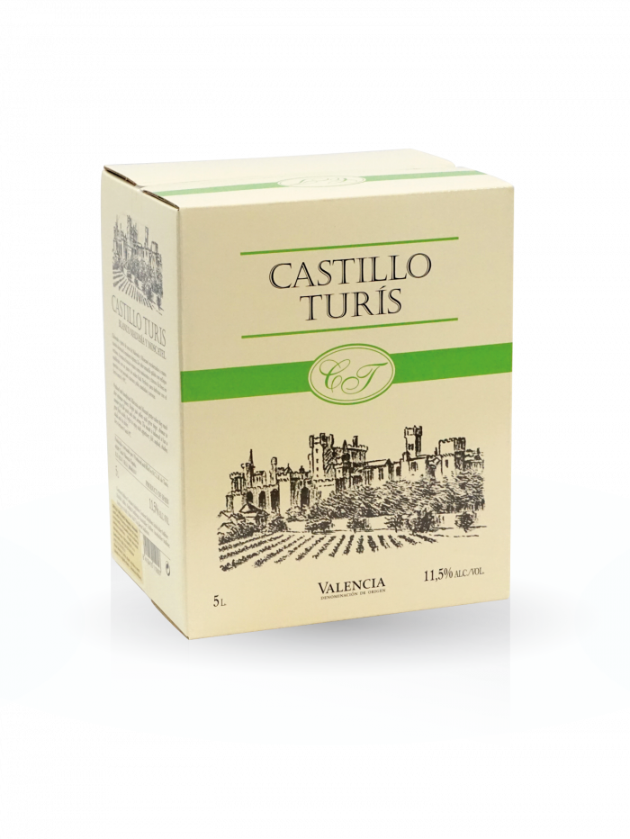 Vino blanco Bag In Box Castillo de Turís