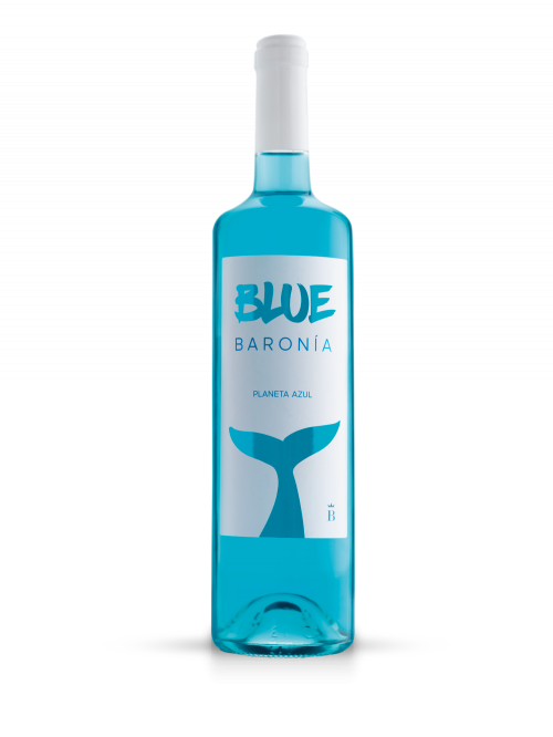 Bebida espirituosa Baronía Blue