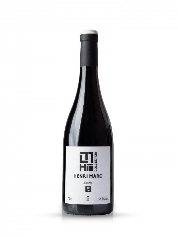 Monovarietal red wine Henri Marc 01 Syrah