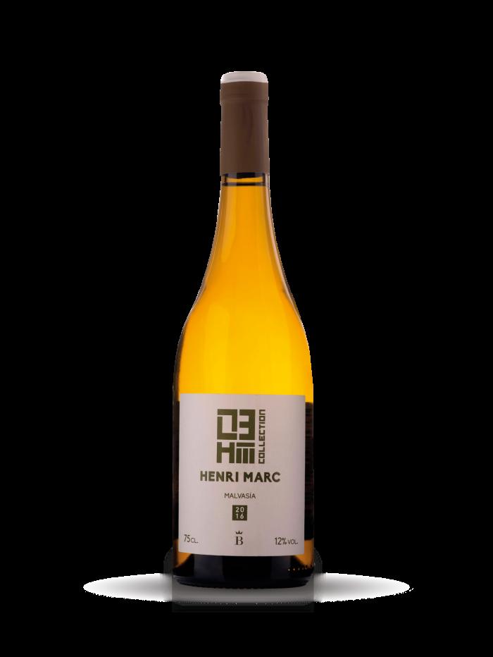 Vino blanco monovarietal Henri Marc 03 Malvasía
