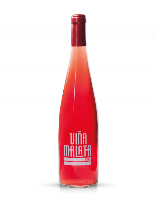 Vino rosado afrutado Viñamalata