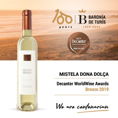 Mistela Dona Dolca Bronze Decanter 2019