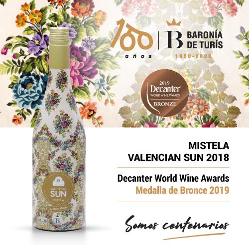 Mistela Valencian Sun 2019 Bronce Decanter 2019