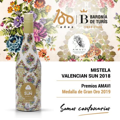 Mistela Valencian Sun 2019 Gran Oro Amavi 2019