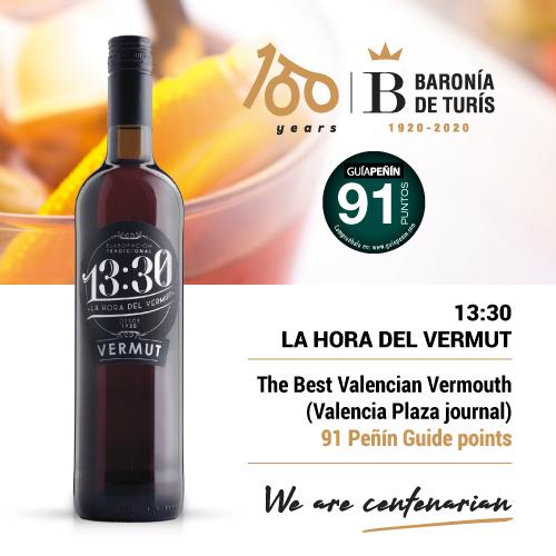 Vermouth 13.30 la hora del vermut 91 points Peñín