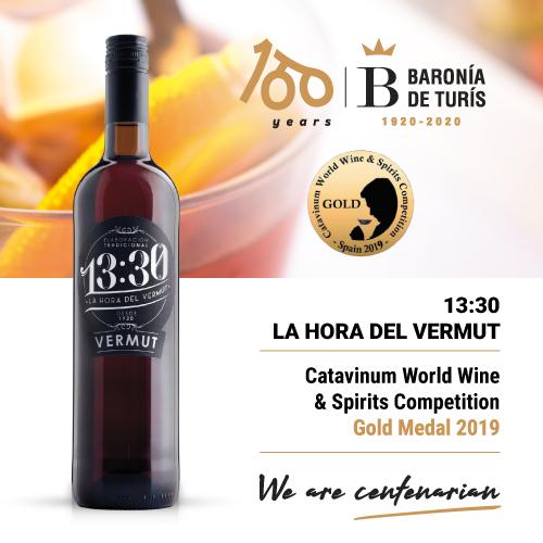 Vermouth 13.30 la hora del vermut Gold Catavinum 2019