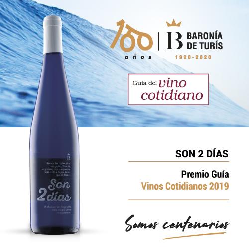 Vino blanco afrutado Son 2 días Guía Vino Cotidiano 2019