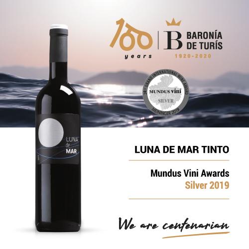 Vino tinto barrica Luna de Mar Silver Mundus Vini 2019